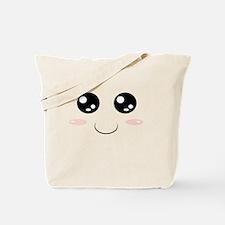Smiley Kawaii Face Tote Bag