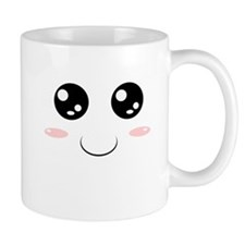 Smiley Kawaii Face Mug