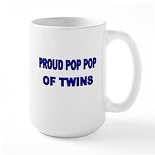 PROUD POP POP OF TWINS Mug