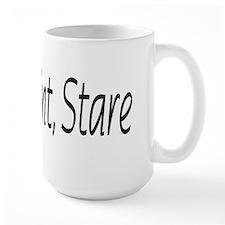 stop point stare Mug