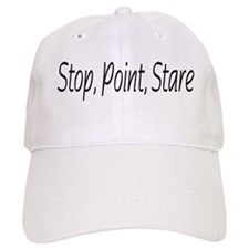 stop point stare Baseball Cap