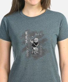 Date #4: Women's Grey T-Shirt