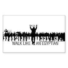 Walk Like An Egyptian Decal