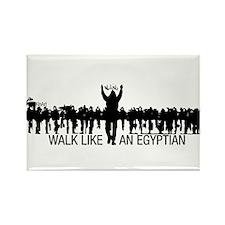 Walk Like An Egyptian Rectangle Magnet