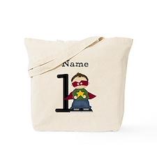 Personalized Superhero One Tote Bag