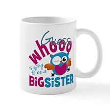 Big Sister - Owl Small Mug