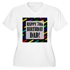 70th Birthday For Dad T-Shirt