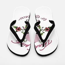 Fight Cancer Flip Flops