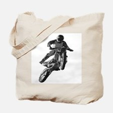 And there was flight with a dirt bike Tote Bag