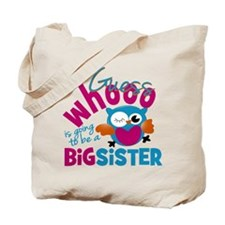 Big Sister - Owl Tote Bag