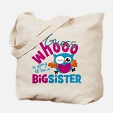 Big Sister - Owl Tote Bag