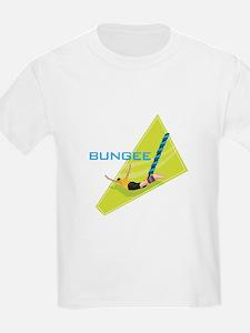 Bungee Jumping Graphic Kids T-Shirt