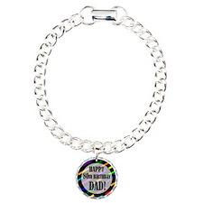 80th Birthday For Dad Bracelet