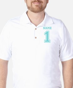 Blue Number One T-Shirt