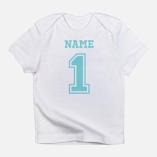 Blue Number One Infant T-Shirt