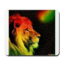 Rasta Lion Mousepad