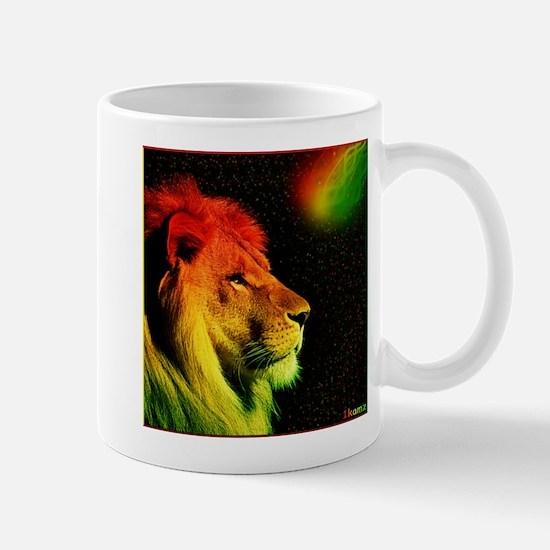 Rasta Lion Mug