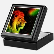 Rasta Lion Keepsake Box