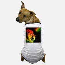 Rasta Lion Dog T-Shirt