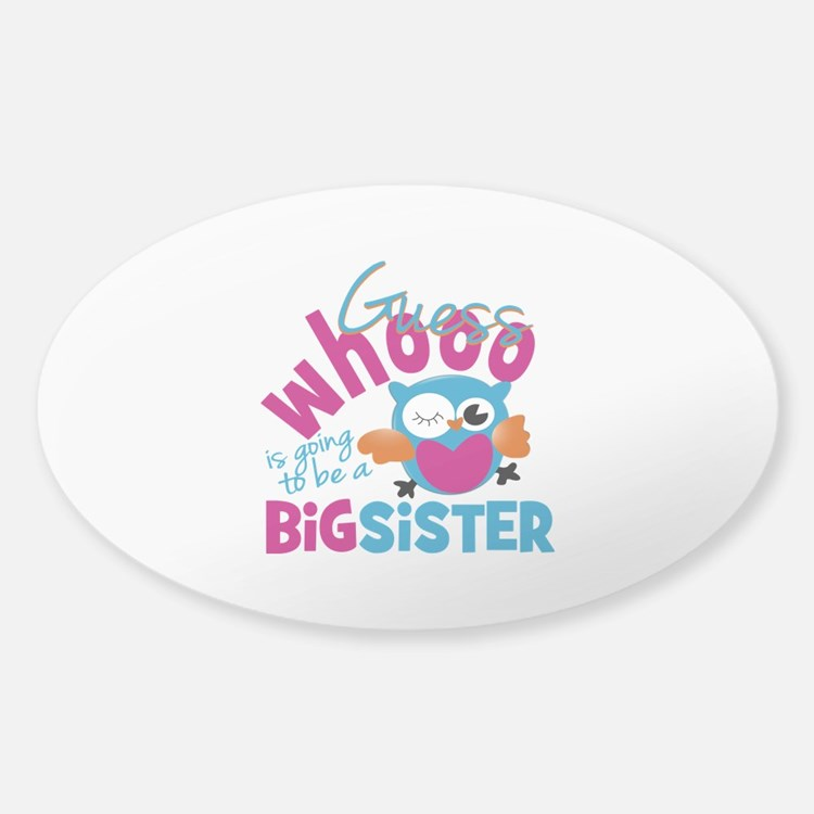 Big Sister - Owl Decal