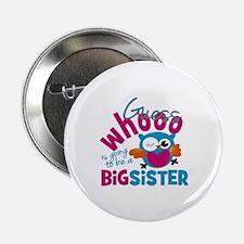 "Big Sister - Owl 2.25"" Button"