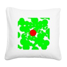 7 UP Square Canvas Pillow