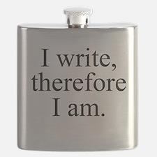 I write, therefore I am. Flask