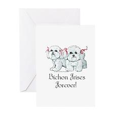 Bichon Frise Fun Greeting Card