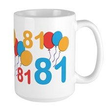 81 Years Old - 81st Birthday Mug