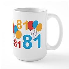 81 Years Old - 81st Birthday MugMugs