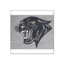 "Panther Print Square Sticker 3"" x 3"""