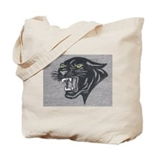 Panther Print Tote Bag