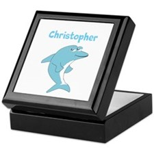 Dolphin Just Add Name Keepsake Box