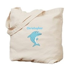 Dolphin Just Add Name Tote Bag