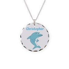 Dolphin Just Add Name Necklace