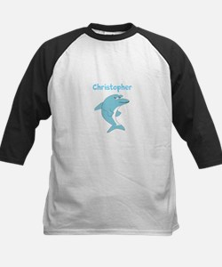Dolphin Just Add Name Baseball Jersey