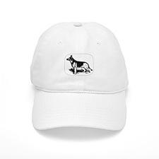German Shepherd Profile Baseball Cap