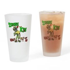 Zombie kids Drinking Glass