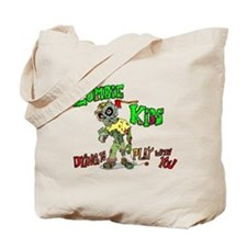 Zombie kids Tote Bag