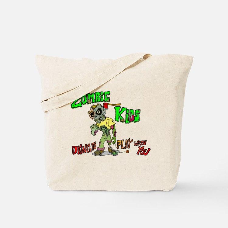 Zombie kids Tote Bag