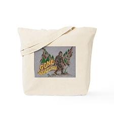 Big Foot Print Tote Bag