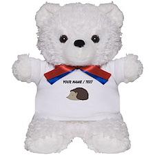 Cartoon Porcupine Teddy Bear