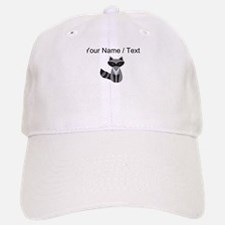 Cartoon Raccoon Baseball Baseball Baseball Cap