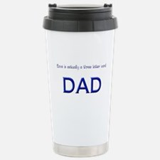 Love is a 3 letter word, DAD Travel Mug