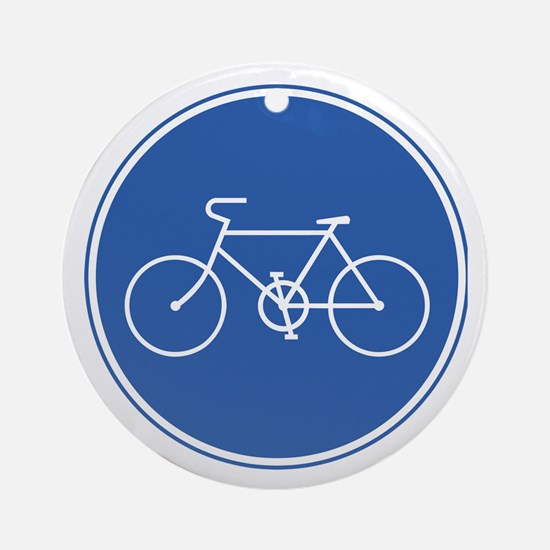 Bicycles Only - Japan Ornament (Round)