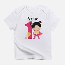 Girl Superhero 1 Infant T-Shirt