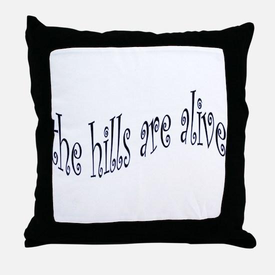 Cute Sound of music Throw Pillow