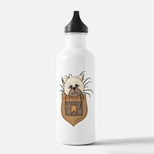 Pocket Kitty Cream Water Bottle