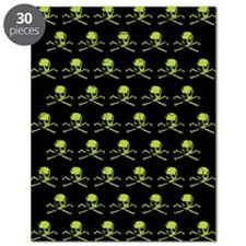Green Skull Pattern Puzzle
