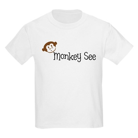 Monkey See Kids T-Shirt